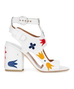 Laurence Dacade | Nation Shiny Sandals 39 Calf Leather/Leather/Rubber