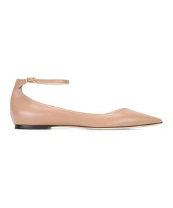 Jimmy Choo | Lucy Ballerinas 38.5 Leather