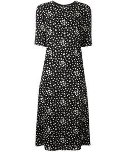 Saint Laurent | Star Print Dress 38 Viscose/Silk