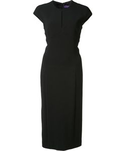 Ralph Lauren | Front Slit Detail Dress 12 Spandex/Elastane/Wool