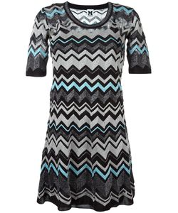 Missoni | M Zig Zag Pattern Dress 42 Polyamide/Cotton/