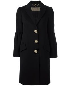 Burberry   Oversized Button Coat 6 Cashmere/Wool/Viscose/Cashmere