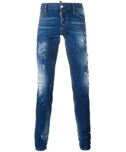 Dsquared2 | Slim Distressed Jeans 48 Polyester/Spandex/Elastane/Cotton