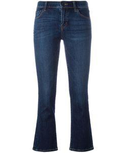 J Brand | Cropped Selena Bootcut Jeans 30 Cotton/Polyurethane