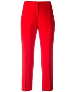 Alexander McQueen | Cropped Tailo Trousers 46 Acetate/Viscose