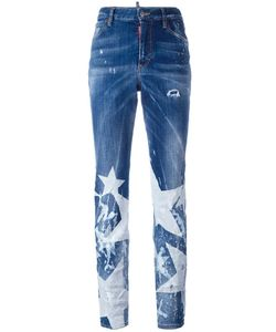 Dsquared2 | Los Angeles Big Star Jeans 44 Cotton/Spandex/Elastane/Polyester