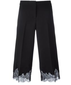 Michael Michael Kors | Lace Hem Cropped Trousers 2