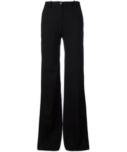 Roberto Cavalli | Tailored Flared Trousers 44 Virgin Wool/Spandex/Elastane/Viscose/Cotton