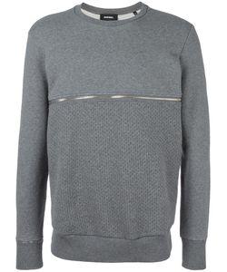 Diesel   Zipped Sweatshirt Medium Cotton