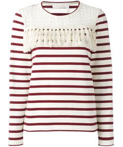 See By Chloe | See By Chloé Striped Blouse Large Cotton