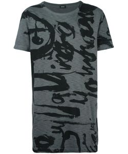 Diesel | Front Print T-Shirt Large Cotton