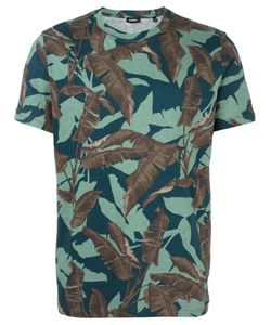 Diesel | Feather Print T-Shirt Large Cotton