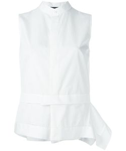 Dsquared2 | Layered Sleeveless Shirt Blouse 38 Cotton