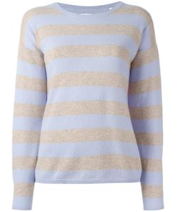 Chinti And Parker | Striped Jumper Xs Cashmere