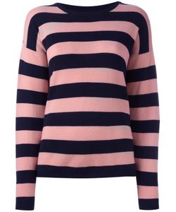 Chinti And Parker | Striped Jumper Small Cashmere