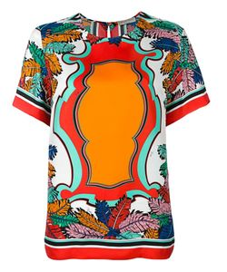 Emilio Pucci | Printed T-Shirt 46 Silk