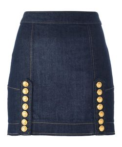 Dsquared2 | Livery Denim Mini Skirt 40 Cotton/Spandex/Elastane