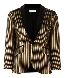 Sonia Rykiel | Striped Fitted Jacket 36 Polyamide/Cotton/Polyester/Spandex/Elastane