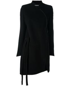 Ann Demeulemeester | Belted Coat 40 Wool/Nylon/Rayon/Cotton
