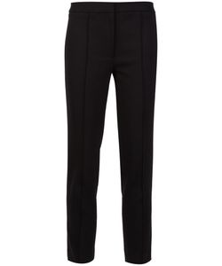 Adam Lippes | Cigarette Pants 2 Silk/Cotton/Spandex/Elastane/Wool