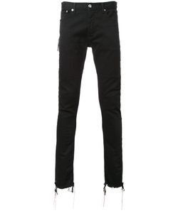 Mr. Completely | Side Zip Skinny Jeans 30 Cotton