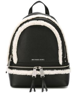 Michael Michael Kors | Medium Rhea Backpack Leather/Sheep Skin/Shearling