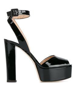 Giuseppe Zanotti Design | Betty Sandals 36.5 Patent Leather/Leather