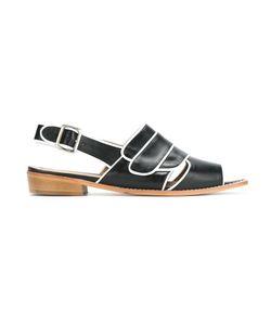 Manolita | Pointed Toe Pumps 38 Aligator Leather