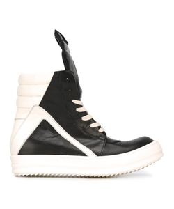 Rick Owens | Geobasket Hi-Top Sneakers 38 Horse Leather/Leather/Rubber