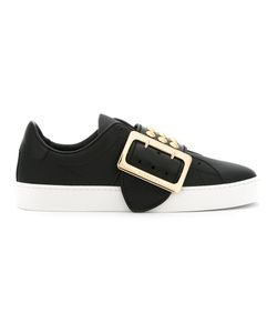 Burberry | Buckled Sneakers 36 Leather/Rubber/Metal Other