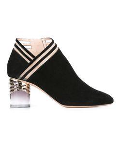 Nicholas Kirkwood | 65mm Zaha Ankle Boots 36.5 Leather/Suede