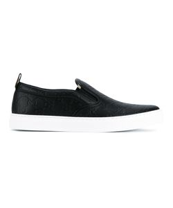 Gucci | Signature Slip-On Sneakers 9 Rubber/Leather