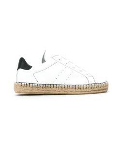 Manolita | Panelled Espadrilles 36 Aligator Leather