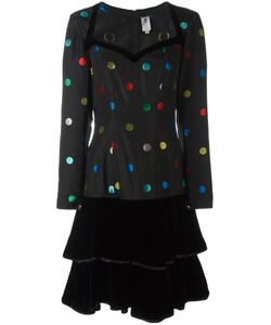 Emanuel Ungaro Vintage | Polka Dot Patterned Dress 42