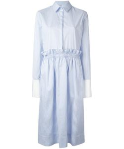 Victoria, Victoria Beckham | Victoria Victoria Beckham Striped Flared Shirt Dress 38
