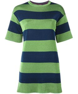 Missoni | M Striped T-Shirt Dress Large Viscose/Cotton Fibre/Polyamide