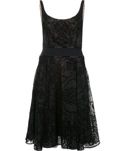 Marchesa Notte | Flared Dress 6 Silk