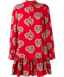 Alexander McQueen | Poppy Print Mini Dress 46 Silk