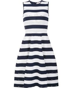 Carolina Herrera | Striped Knit Dress Small Viscose/Polyester