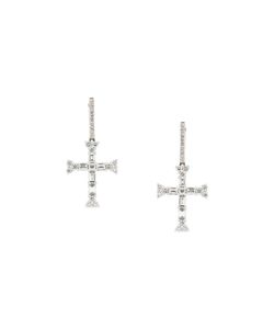 ROSA DE LA CRUZ | Cross E Hanging Earring
