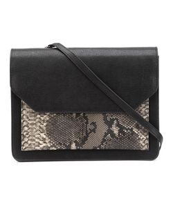 CHRISTIAN SIRIANO | Snakeskin Detail Shoulder Bag Pvc