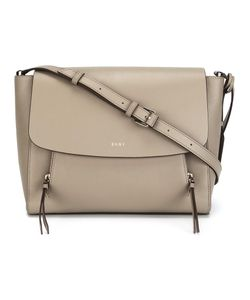 DKNY | Flap Satchel Leather