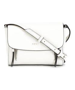 DKNY | Mini Flap Crossbody Bag Leather