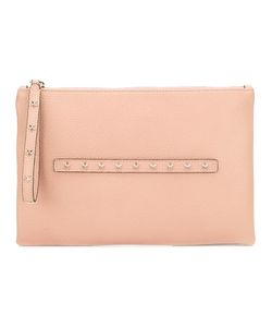 Red Valentino | Star Studded Clutch Leather