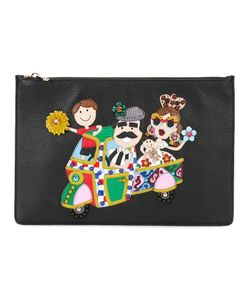 Dolce & Gabbana | Dg Family Patch Clutch Calf Leather