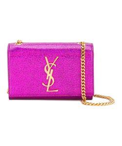 Saint Laurent   Mini Monogram Crossbody Bag Brass/Leather