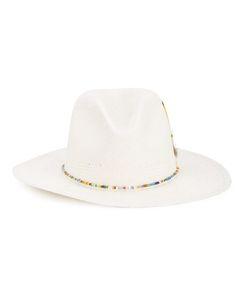 NICK FOUQUET | Ibis Whistler Hat 58 Straw/Leather