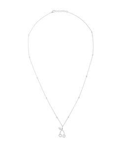 ROSA DE LA CRUZ | Diamond Encrusted Cherry Pendant Necklace