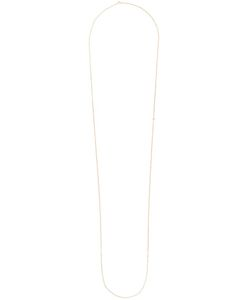 ROSA DE LA CRUZ | Diamond Charm Long Necklace