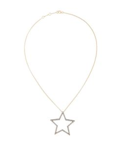ROSA DE LA CRUZ | Diamond Encrusted Star Pendant Necklace